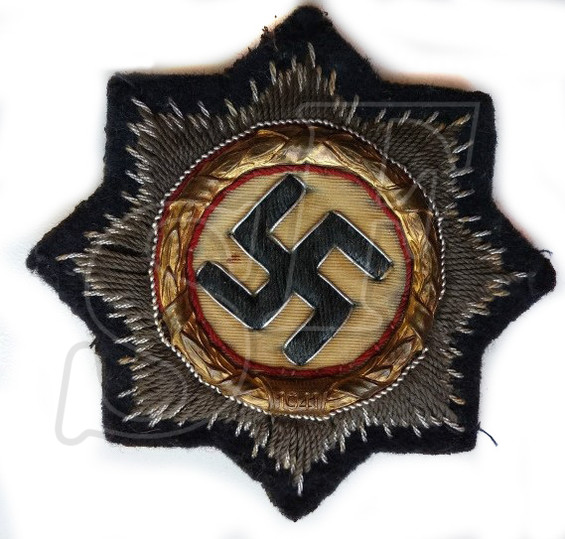 German Cross in Gold (cloth form)