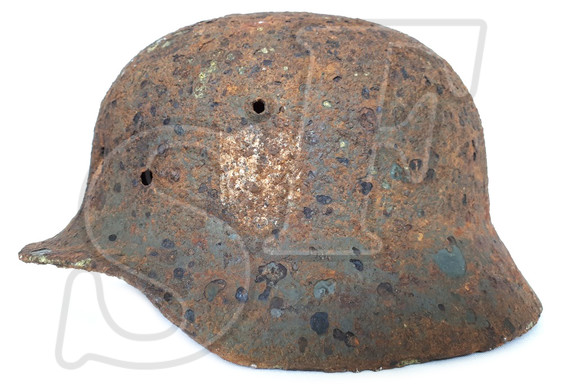 German helmet М40 from Smolensk