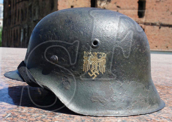German helmet М42 from Minsk