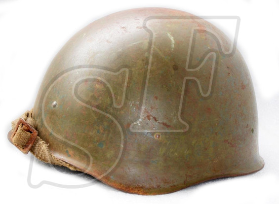 Soviet helmet SSh-40 from village Peskovatka