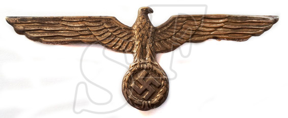 The eagle from front parade uniform of the 3 Reich