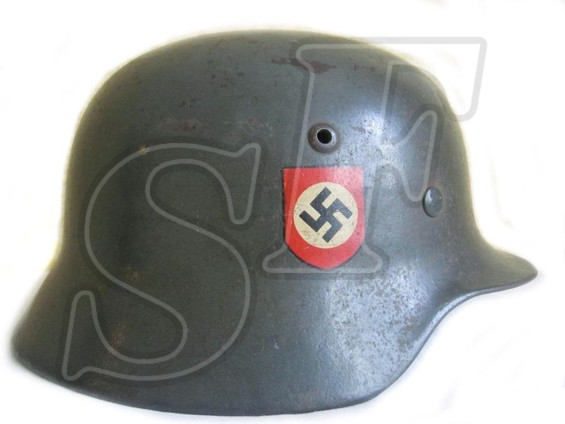 German helmet M35 Ordnungspolizei