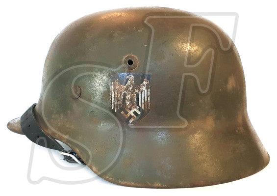 German helmet Wehrmacht / Restoration