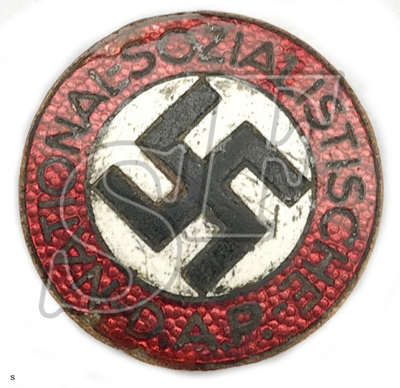 Party Badge of NSDAP / from Stalingrad