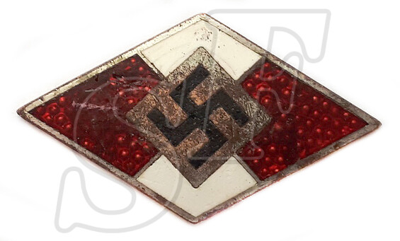 Membership badge of Hitler Youth (Hitlerjugend)