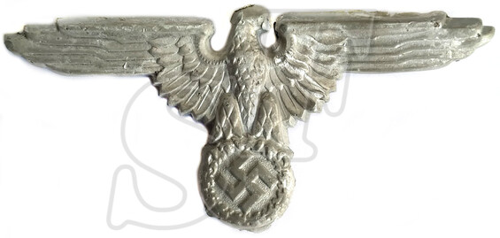 Waffen-SS visor hat eagle / from Rostov