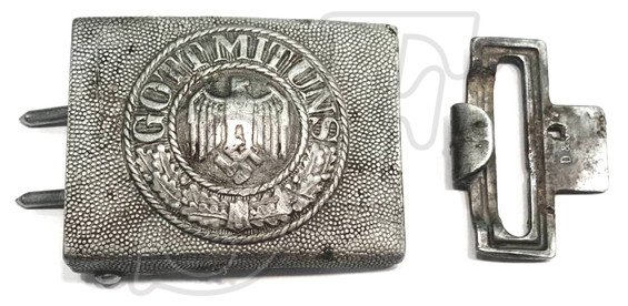 "Buckle ""Gott Mit Uns"" from Leningrad"