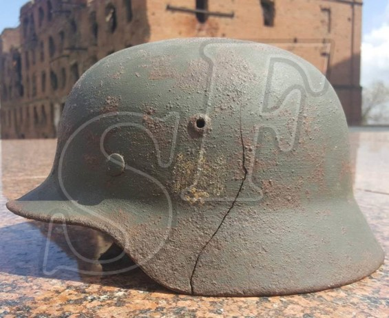"Steel helmet M35 from ""Razgulyaevka"""