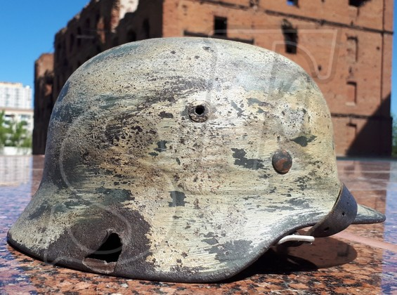 Steel helmet M35 from Sinyavsky Heights