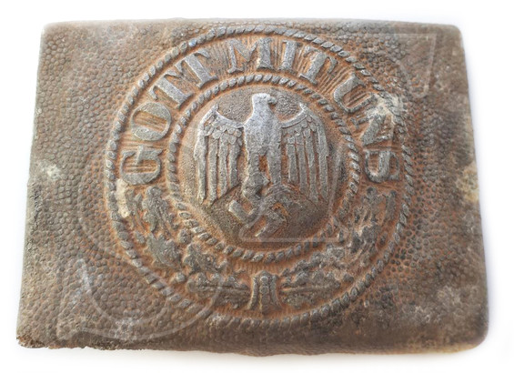 "Buckle ""Got Mit Uns"" from Balga (Kaliningrad region)"