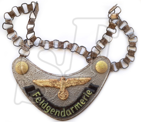 Gorget of Feldgendarm from Stalingrad