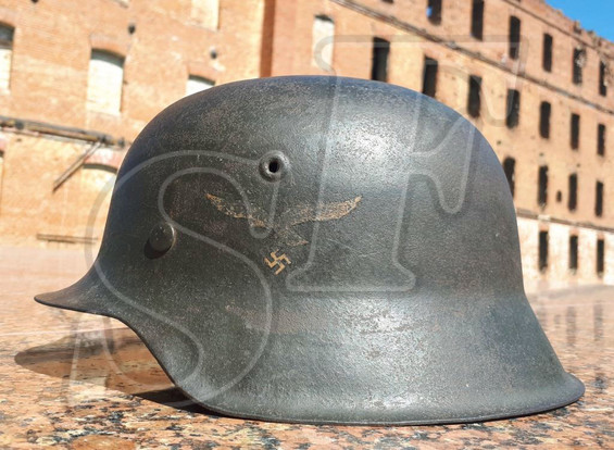"German steel helmet M42 ""Luftwaffe"""