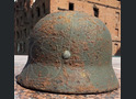 German helmet М40 from village Ezhovka (Stalingrad region)