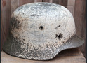 German helmet M35 / from Stalingrad