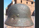 Steel helmet M35 from village Kuzmichi